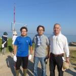 糸島海岸清掃02