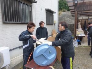 2014暁の鐘学園餅つき02