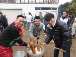 2014暁の鐘学園餅つき04